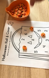 Halloween Morning Math
