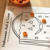 Halloween Morning Math