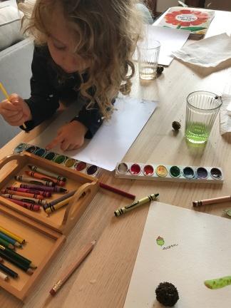 Lillian - Nature Journaling