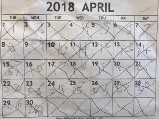 Morning Basket Calendar