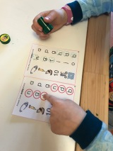Morning Reading Practice - Initial Consonant Stamping