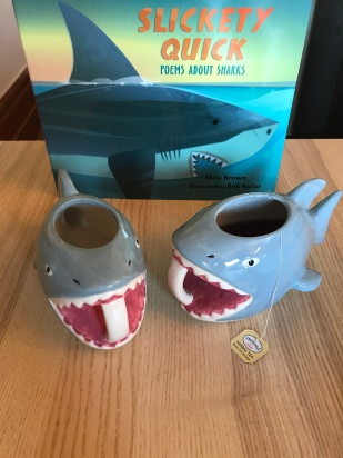 Shark Week Poetry Tea Time