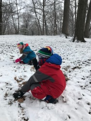 winter forest school