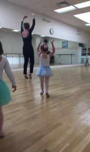 Lillian at Ballet